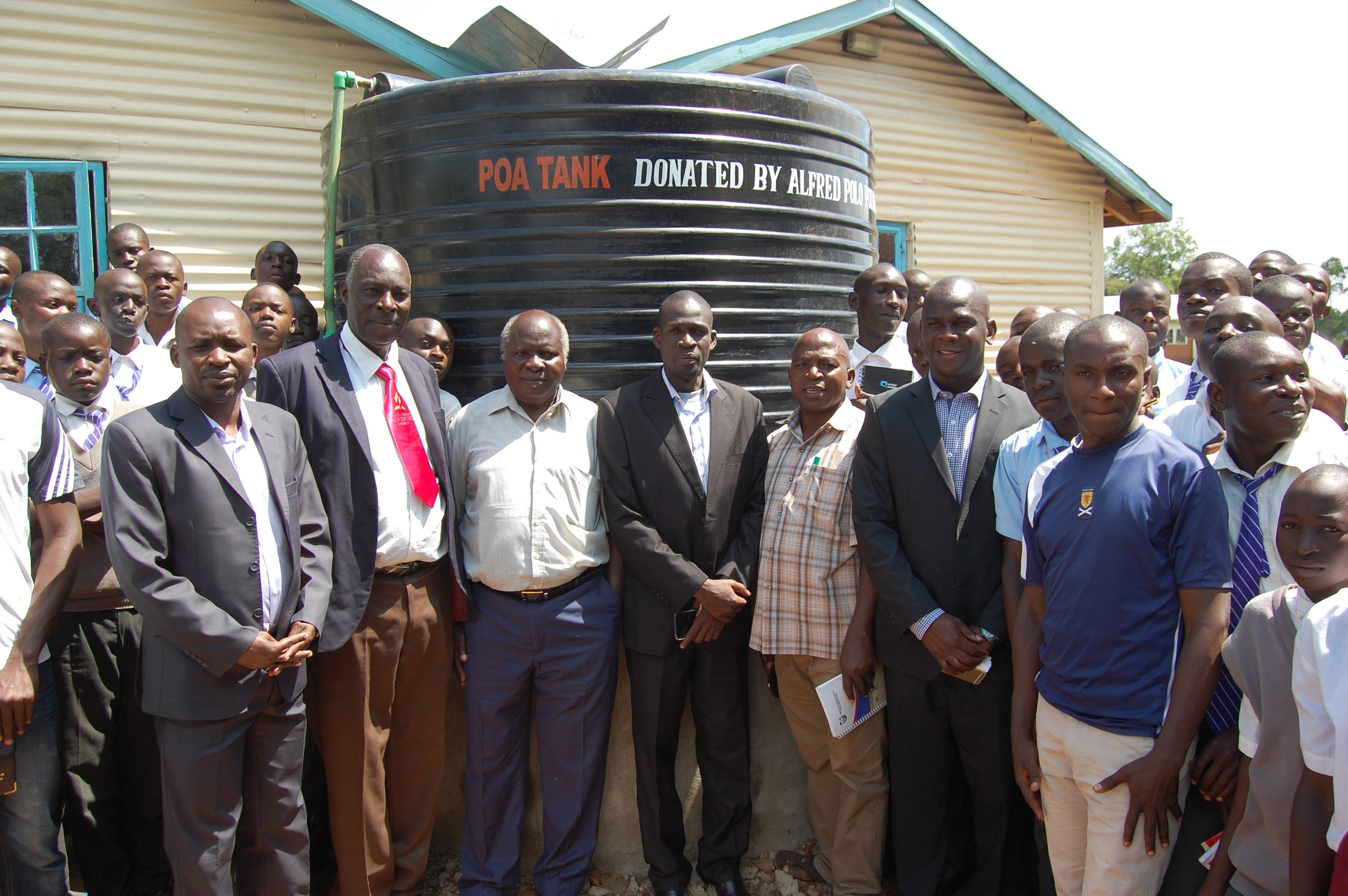 Launch of Water Tank at Mirogi Boys Secondary School
